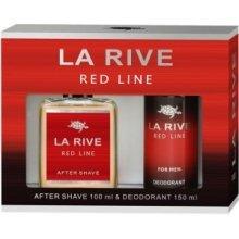 Парфюми, Парфюмерия, козметика La Rive Red Line - Комплект (афтършейв/100ml + дезодорант/150ml)