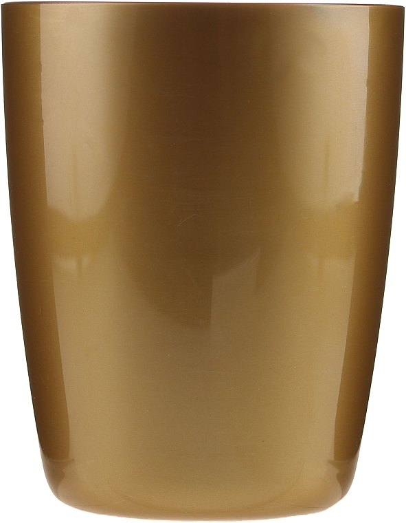 Чаша за баня, 9541, златна - Donegal Bathroom Cup — снимка N1