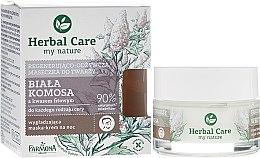 Парфюмерия и Козметика Възстановяваща и подхранваща маска за лице - Farmona Herbal Care