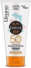 Парфюмерия и Козметика Детска слънцезащитна емулсия SPF 50+ - Lirene Sun Natura Kids Protective Emulsion SPF50+