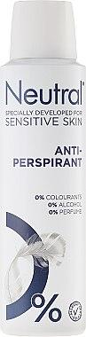 Спрей дезодорант - Neutral 0% Anti-Perspirant — снимка N1