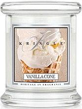 Парфюми, Парфюмерия, козметика Ароматна свещ в бурканче - Kringle Candle Vanilla Cone
