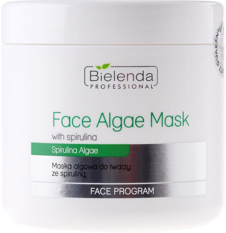 Алгинатна маска за лице със спирулина - Bielenda Professional Algae Spirulina Face Mask — снимка N1