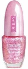 Парфюми, Парфюмерия, козметика Перлено покритие за нокти - Pupa Star Dust Top Coat