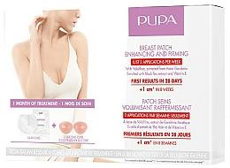 Парфюмерия и Козметика Пачове за стягане и увеличаване на бюста - Pupa Breast Patch Enhancing and Firming Set