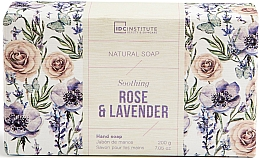 Парфюмерия и Козметика Сапун - IDC Institute Soothing Hand Natural Soap Rose & Lavender