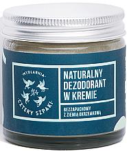 Парфюмерия и Козметика Крем дезодорант без аромат - Cztery Szpaki