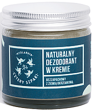 Парфюми, Парфюмерия, козметика Крем дезодорант без аромат - Cztery Szpaki