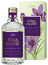 Парфюмерия и Козметика Maurer & Wirtz 4711 Acqua Colonia Saffron & Iris - Одеколон