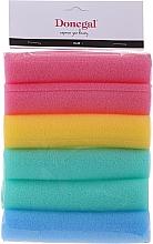 Парфюмерия и Козметика Ролки за коса, 9253, 6 бр. - Donegal Sponge Rollers