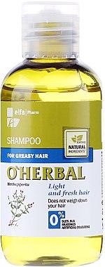 """Шампоан за мазна коса """"Свежест и лекота"""" - O'Herbal — снимка N1"""
