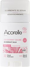 Парфюмерия и Козметика Дезодорант-балсам без аромат - Acorelle Deodorant Balm