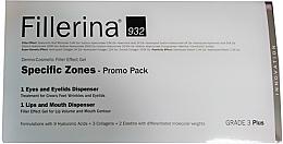 Парфюмерия и Козметика Комплект - Fillerina Grade 3+ (гел за устниl/7ml + гел за очи/15ml)