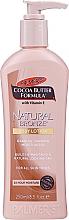 Парфюмерия и Козметика Овлажняващ лосион за тяло - Palmer's Cocoa Butter Formula Natural Bronze Body Lotion