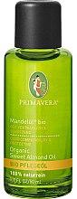 Парфюмерия и Козметика Бадемово масло за тяло - Primavera Organic Sweet Almond Oil