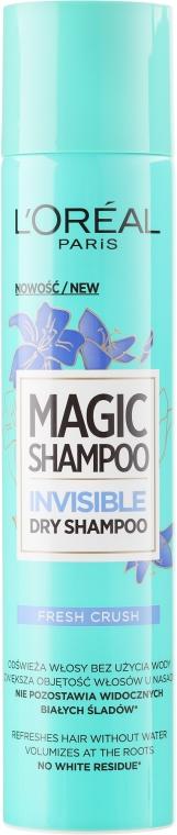 "Сух шампоан ""Свежест"" - L'Oreal Paris Magic Shampoo Frash Crush"