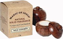 """Парфюми, Парфюмерия, козметика Натурален парфюмен крем """"Nag Champa"""" - Shamasa"""