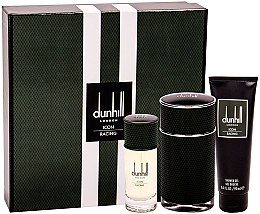 Парфюмерия и Козметика Alfred Dunhill Icon Racing - Комплект (парф. вода/100ml + парф. вода/30ml + душ гел/90ml)