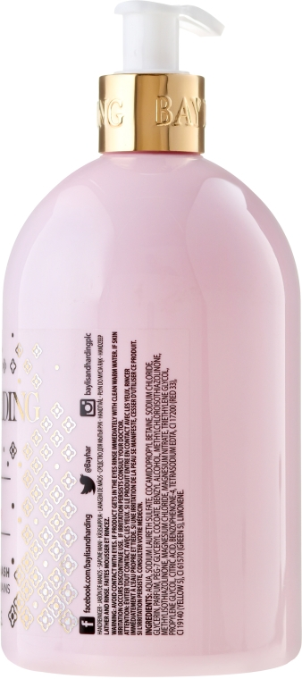 Течен сапун за ръце - Baylis & Harding Pink Fizz & Elderflower Hand Wash Limited Edition — снимка N2
