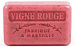 Парфюмерия и Козметика Марсилски сапун с грозде - Foufour Savonnette Marseillaise Vigne Rouge