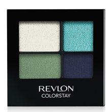 Устойчиви сенки за очи - Revlon Colorstay 16 Hour Eyeshadow Quad — снимка N1