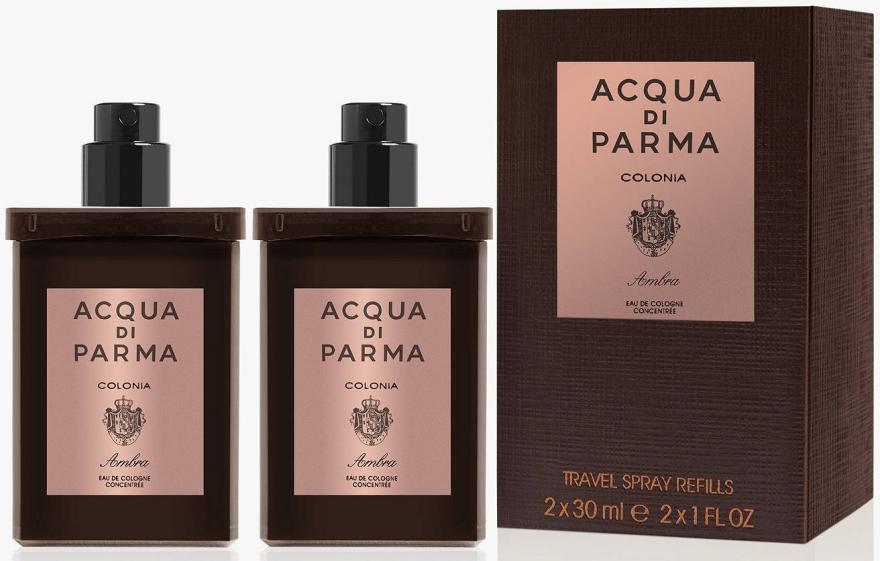 Acqua di Parma Colonia Ambra Travel Spray Refills - Одеколон — снимка N1