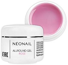 Парфюмерия и Козметика Розов гел за нокти - NeoNail Professional Allround Gel Rose