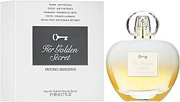 Antonio Banderas Her Golden Secret - Тоалетна вода (тестер с капачка)  — снимка N2