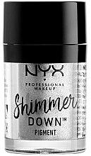Парфюмерия и Козметика Пигмент за очи - NYX Professional Make Up Shimmer Down Pigment