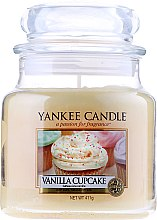 "Парфюмерия и Козметика Ароматна свещ ""Ванилов кекс"" - Yankee Candle Vanilla Cupcake"