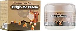Парфюмерия и Козметика Възстановяващ крем за лице с конска мас - Elizavecca Face Care Milky Piggy Origine Ma Cream