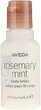 Парфюмерия и Козметика Лосион за тяло - Aveda Rosemary Mint Body Lotion (опаковка за пътуване)