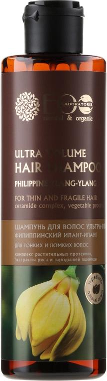 "Шампоан за коса ""Ултра обем за тънка и крехка коса"" - ECO Laboratorie Ultra Volume Hair Shampoo"