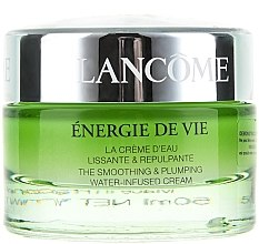 Парфюми, Парфюмерия, козметика Хидратиращ крем за лице - Lancome Energie De Vie The Smoothing & Plumping Water (тестер)