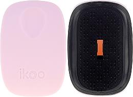Парфюмерия и Козметика Четка за коса - Ikoo Pocket Black Cotton Candy