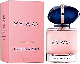 Парфюмерия и Козметика Giorgio Armani My Way - Парфюмна вода