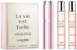 Парфюми, Парфюмерия, козметика Lancome La Vie Est Belle - Комплект (парф. вода/18ml + пълнител/2x18ml)