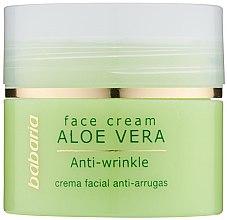 Парфюмерия и Козметика Крем за лице с алое вера - Babaria Aloe Facial Wrinkle Cream