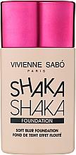 Парфюмерия и Козметика Фон дьо тен с натурално покритие - Vivienne Sabo Natural Cover Shaka Shaka Foundation
