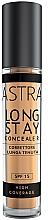 Парфюмерия и Козметика Дълготраен кремообразен коректор за лице - Astra Make-Up Long Stay Concealer SPF15