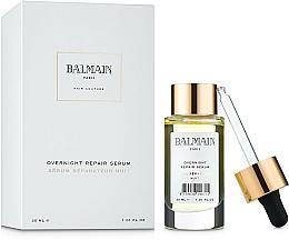 Парфюмерия и Козметика Възстановяващ нощен серум за коса - Balmain Paris Hair Couture Overnight Repair Serum