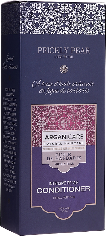 Балсам за коса с опунция - Arganicare Prickly Pear Intensive-Repair Conditioner