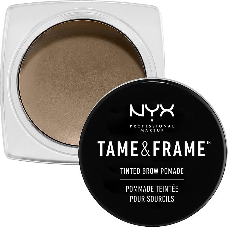 Помади за вежди - NYX Professional Makeup Tame & Frame Brow Pomade