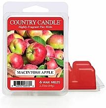 Парфюмерия и Козметика Ароматен восък - Country Candle Macintosh Apple Wax Melts