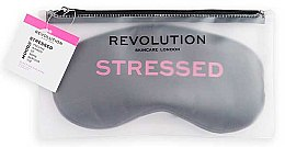 Парфюмерия и Козметика Маска за сън - Revolution Skincare Stressed Mood Calming Sleeping Eye Mask