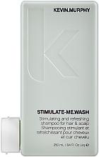 Парфюмерия и Козметика Освежаващ шампоан за мъже - Kevin.Murphy Stimulate-Me Wash