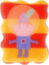 """Парфюми, Парфюмерия, козметика Гъба за баня """"Бен и Холи"""", Бен, червена с жълто - Suavipiel Ben & Holly"""