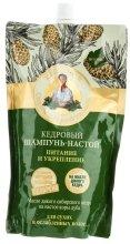 Парфюмерия и Козметика Подхранващ и укрепващ шампоан за коса - Рецептите на баба Агафия (пълнител)