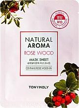 Парфюми, Парфюмерия, козметика Маска за лице от плат - Tony Moly Natural Aroma Rose Wood Mask Sheet