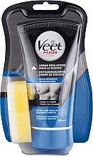 Парфюмерия и Козметика Мъжки крем за депилация под душа за чувствителна кожа - Veet Men Silk & Fresh Hair Removal Cream